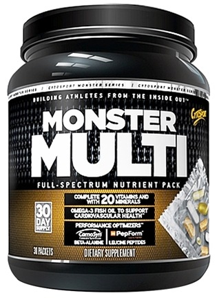 DROPPED: Cytosport - Monster Multi Full-Spectrum Nutrient Pack - 30 Packet(s) CLEARANCE PRICED