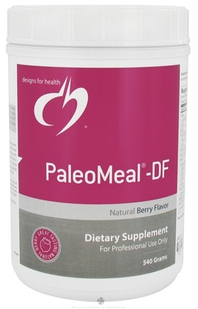 DROPPED: Designs For Health - PaleoMeal Natural Chocolate Flavor - 900 Grams CLEARANCE PRICED