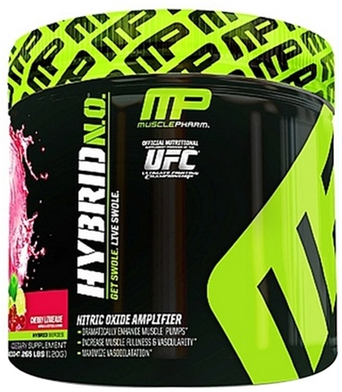 DROPPED: Muscle Pharm - Hybrid NO Nitric Oxide Amplifier Cherry Limeade - 120 Grams