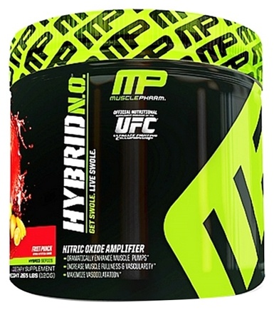 DROPPED: Muscle Pharm - Hybrid NO Nitric Oxide Amplifier Fruit Punch - 120 Grams DAILY DEAL