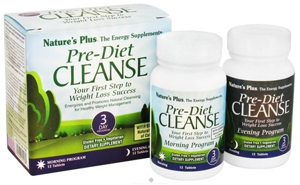 DROPPED: Nature's Plus - Pre-Diet Cleanse 3 Day Program - 24 Tablet(s)