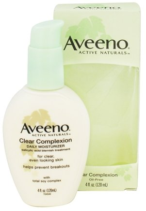 DROPPED: Aveeno - Active Naturals Clear Complexion Daily Moisturizer Oil-Free - 4 oz. CLEARANCE PRICED