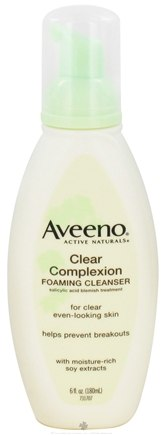 DROPPED: Aveeno - Active Naturals Clear Complexion Foaming Cleanser Oil-Free - 6 oz. CLEARANCE PRICED