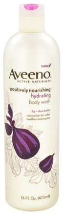 DROPPED: Aveeno - Active Naturals Positively Nourishing Body Wash Hydrating Fig + Shea Butter - 16 oz. CLEARANCE PRICED