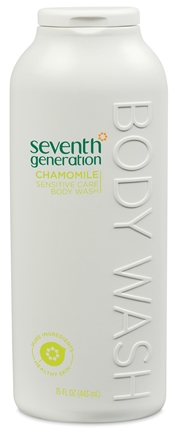 DROPPED: Seventh Generation - Body Wash Sensitive Care Chamomile - 15 oz. CLEARANCE PRICED