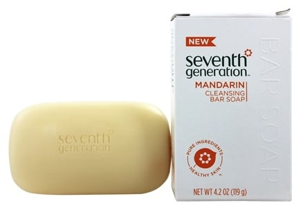 DROPPED: Seventh Generation - Bar Soap Cleansing Mandarin - 4.2 oz.