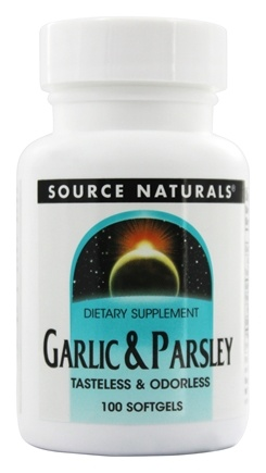 Source Naturals - Garlic & Parsley - 100 Softgels
