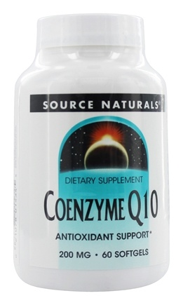 Source Naturals - Coenzyme Q10 200 mg. - 60 Softgels