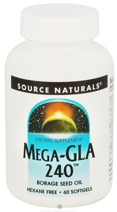 DROPPED: Source Naturals - Mega-GLA 240 - 60 Softgels CLEARANCE PRICED