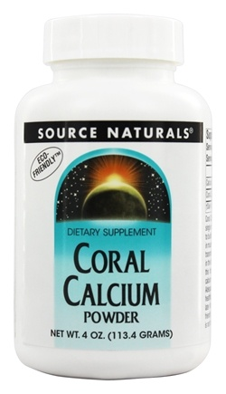 Source Naturals - Coral Calcium Powder - 4 oz.
