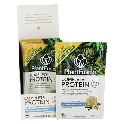 PlantFusion - Complete Plant Protein Vanilla Bean - 12 Packet(s)