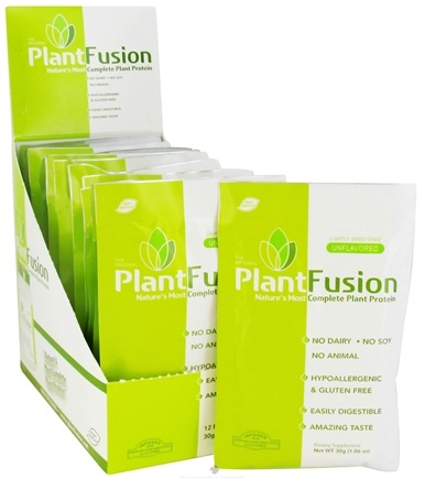 DROPPED: PlantFusion - Nature's Most Complete Plant Protein Lightly Sweetened Unflavored - 12 Packet(s) CLEARANCE PRICED