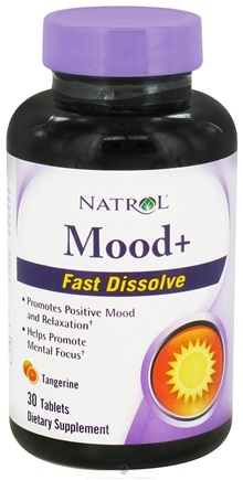 DROPPED: Natrol - Mood+ Fast Dissolve Tangerine - 30 Tablet(s) CLEARANCE PRICED
