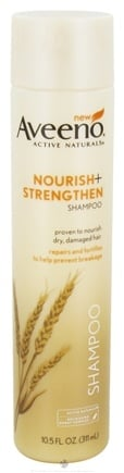 DROPPED: Aveeno - Active Naturals Shampoo Nourish + Strengthen - 10.5 oz. CLEARANCE PRICED