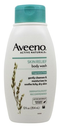Aveeno - Active Naturals Body Wash Skin Relief Fragrance Free - 12 oz.