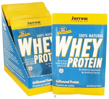 DROPPED: Jarrow Formulas - Whey Protein Unflavored - 12 Packet(s) CLEARANCE PRICED