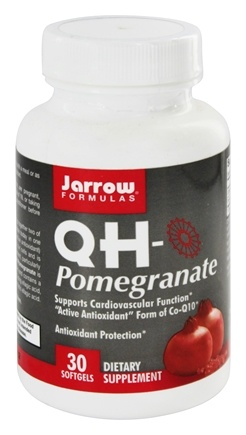 DROPPED: Jarrow Formulas - QH-Pomegranate - 30 Softgels CLEARANCE PRICED