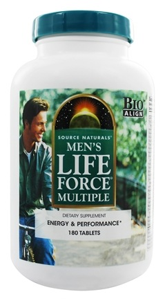 Source Naturals - Men's Life Force Multiple - 180 Tablets