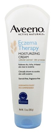 Aveeno - Active Naturals Eczema Therapy Moisturizing Cream Fragrance-Free - 7.3 oz.