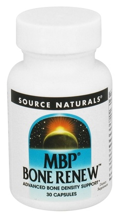 DROPPED: Source Naturals - MBP Bone Renew 40 mg. - 30 Capsules CLEARANCE PRICED