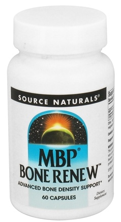 DROPPED: Source Naturals - MBP Bone Renew 40 mg. - 60 Capsules CLEARANCE PRICED