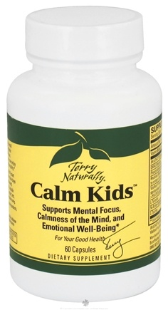 DROPPED: EuroPharma - Terry Naturally Calm Kids - 60 Capsules CLEARANCE PRICED