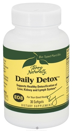 DROPPED: EuroPharma - Terry Naturally Daily Detox - 30 Softgels