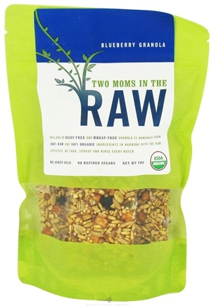 DROPPED: Two Moms in The Raw - Organic Granola Blueberry - 8 oz.