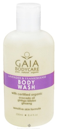 DROPPED: Gaia Skin Naturals - Gaia Bodycare Body Wash Lavender & Frankincense - 8.4 oz. CLEARANCE PRICED