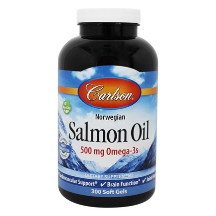 Carlson Labs - Norwegian Salmon Oil 1000 mg. - 300 Softgels