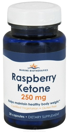 DROPPED: Marine Biotherapies - Raspberry Ketone 250 mg. - 30 Capsules CLEARANCE PRICED