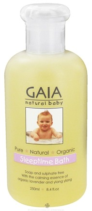 DROPPED: Gaia Skin Naturals - Gaia Natural Sleeptime Bath - 8.4 oz. CLEARANCE PRICED