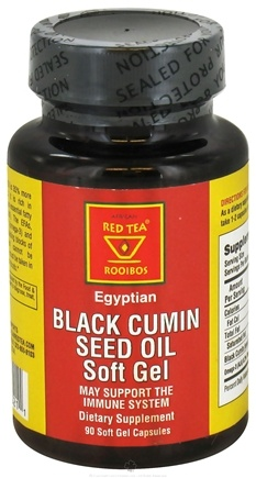 DROPPED: African Red Tea Imports - Egyptian Black Cumin Seed Oil - 90 Softgels