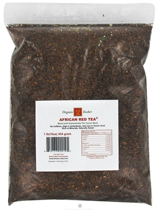 DROPPED: African Red Tea Imports - Rooibos Loose Tea Blend with Sutherlandia - 1 lb. CLEARANCE PRICED