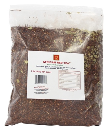 DROPPED: African Red Tea Imports - Rooibos Loose Tea Blend with Buchu Leaf - 1 lb.