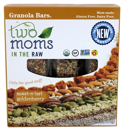 Two Moms in The Raw - Gluten Free Organic Granola Golden Berry - 8 oz.