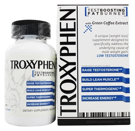 DROPPED: truDERMA - Troxyphen Fat Burning TestBooster - 60 Capsules