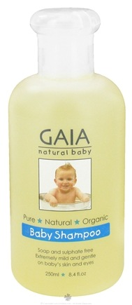 DROPPED: Gaia Skin Naturals - Gaia Natural Baby Shampoo - 8.4 oz. CLEARANCE PRICED