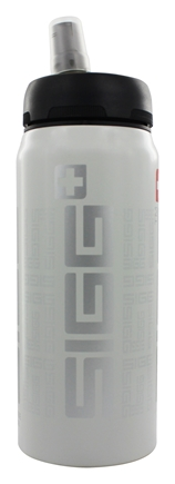 Sigg - Aluminum Water Bottle Active Top SIGGnificant White - 0.6 Liter CLEARANCE PRICED