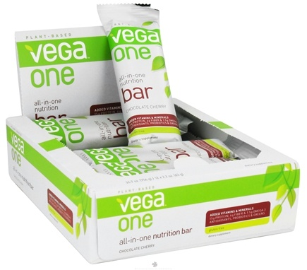DROPPED: Vega - Vega One All-In-One Nutrition Bar Chocolate Cherry - 2.2 oz.