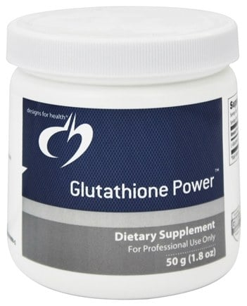 DROPPED: Designs For Health - Glutathione - 50 Grams