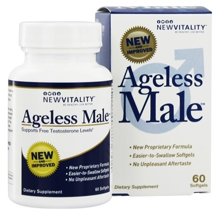 DROPPED: New Vitality - Ageless Male - 60 Tablets