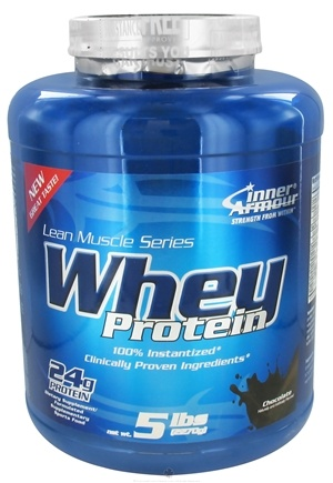DROPPED: Inner Armour - Whey Protein Chocolate - 5 lbs. CLEARANCE PRICED