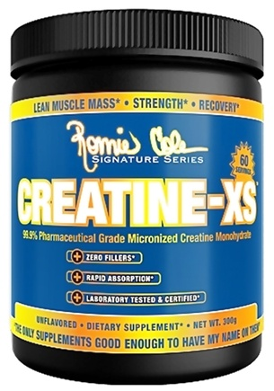DROPPED: Ronnie Coleman Signature Series - Creatine-XS Micronized Creatine Monohydrate Unflavored 60 Servings - 300 Grams