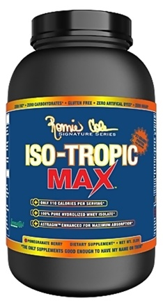 DROPPED: Ronnie Coleman Signature Series - Iso-Tropic Max Pomegranate Berry - 2 lbs. CLEARANCE PRICED