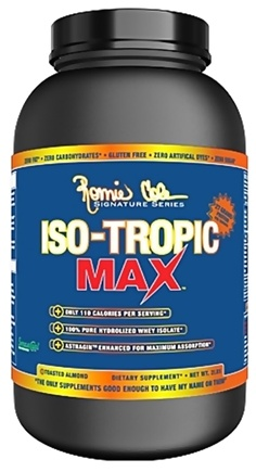 DROPPED: Ronnie Coleman Signature Series - Iso-Tropic Max Toasted Almond - 2 lbs. CLEARANCE PRICED