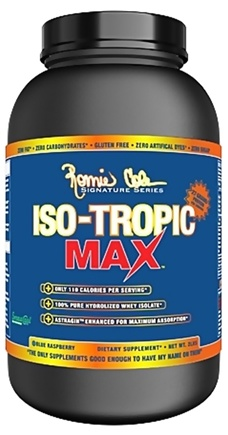 DROPPED: Ronnie Coleman Signature Series - Iso-Tropic Max Blue Raspberry - 2 lbs. CLEARANCE PRICED