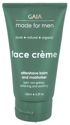 DROPPED: Gaia Skin Naturals - Gaia Made For Men Face Creme - 5.3 oz. CLEARANCE PRICED