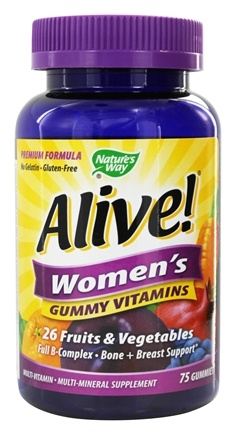 Nature's Way - Alive Women's Gummy Vitamins - 75 Gummies