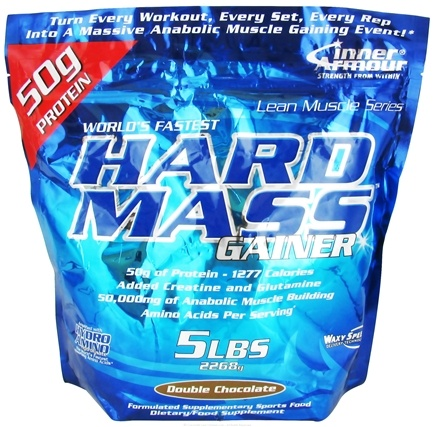 DROPPED: Inner Armour - Hard Mass Gainer Double Chocolate - 5 lbs. CLEARANCE PRICED